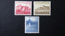 Norway - 1977 - Mi:NO 739-41, Sn:NO 690-2, Yt:NO 695-7**MNH - Look Scan - Norwegen