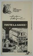 Jidéhem. - Toute La Sauce. Une Aventure De Ginger. - Récit Complet Spirou 1976. - Spirou Magazine