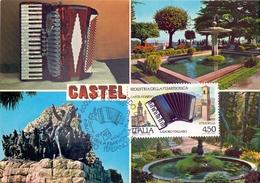 STRADELLA PIAZZA VITTORIO VENETO  1989 MAXIMUM POST CARD (GENN200458) - Fabbriche E Imprese