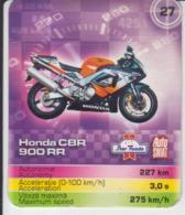 Trading Card - Motorcycle Motorbike Scooter - Honda CBR - 900 RR - 60/50 Mm - Moteurs
