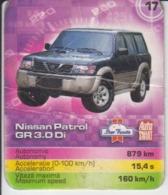 Trading Card - Nissan Patrol GR  - 60/50 Mm - Moteurs