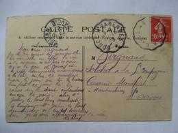 CONVOYEUR   BOUCE   A  VARENNES    -    PÄYSANS  BOURBONNAIS            TTB - Postmark Collection (Covers)