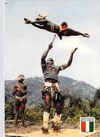 Afrique- COTE D'IVOIRE Danse Des Couteaux Chez Les Yacoubas (Yacouba) (- Agence Ivoirienne Hachette 5354) *PRIX FIXE - Côte-d'Ivoire