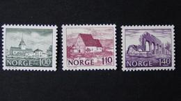 Norway - 1978 - Mi:NO 766-8, Sn:NO 715-7, Yt:NO 722-4**MNH - Look Scan - Norwegen