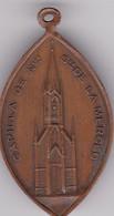 CAPILLA DE NUESTRA SEÑORA DE LOS MERCEDES. MEDALLA DE BAUTISMO, 1920 LA PLATA, ARGENTINA. BAPTISM MEDAL -LILHU - Fichas Y Medallas