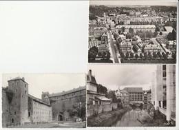 3 CPSM:SEDAN (08) RUE THIERS,CHÂTEAU FORT LA BAILLE,LE MOULIN..ÉCRITES - Sedan