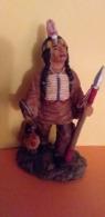 RESINE Neuve..Petite Statue Indienne..Scan K...Voir Les 2 Photos Recto Et Verso - People