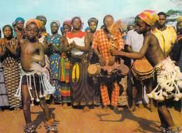 Afrique- COTE D'IVOIRE Région De MAN Danseuses Délié (dance Nu Nu Nues) (Barnoin 6943 Cliché Nourault ) *PRIX FIXE - Côte-d'Ivoire