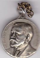 DR. DARDO ROCHA, FUNDADOR. CINCUENTENARIO DE LA FUNDACION DE LA PLATA, 1882-1932. ARGENTINA MEDAL -LILHU - Fichas Y Medallas