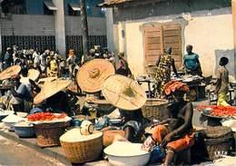 Afrique- TOGO Lomé Le Grand Marché  ( IRIS  Cliché Chareton 7617 ) *PRIX FIXE - Togo