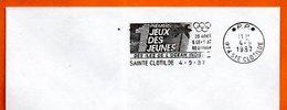 974  SAINT CLOTILDE  1° JEUX DES ILES DE L'OCEAN INDIEN 1987 Lettre Entière N° AB 820 - Marcophilie (Lettres)