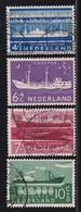 Netherlands 1957, Ships Nvphnr 688-691 Vfu. Cv 7 Euro - Used Stamps