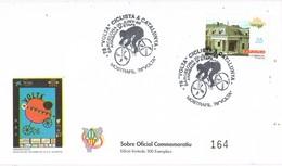 35434. Carta BARCELONA 1998. 78 Volta Ciclista Catalunya. Ciclismo. Numerada - 1931-Hoy: 2ª República - ... Juan Carlos I