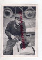 87- BELLAC - TAILLEUR DE PIERRE  -RARE PHOTO ORIGINALE SUR PAPIER ARGENTIQUE JAN LIMOGES 1 BD FLEURUS - Professions