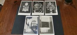 Lotto Di 5 Cartoline - Quadri, Vetrate E Statue