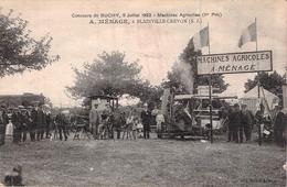 C P A  76  Seine Maritime Buchy 1922 Concours De Machines Agricoles Ménage De Blainville Crevon 1 Er Prix  Carte Animée - Buchy