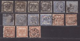 BADE : 15 EX .  OBL . AB. 1861/64 . - Baden