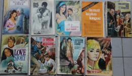 Lot De 10 Romans (suppléments Détachés De Magazines) (Gourdon, Di Marco) - Livres, BD, Revues