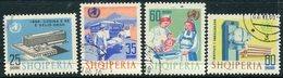 ALBANIA 1966 World Health Organisation Used  Michel 1056-59 - Albanien