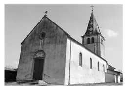 BEREZIAT - L'église Saint-Georges - France