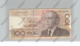 BANKNOTE - MAROC, Pick 65c, 100 Dirhams, 1987, UNC. - Marokko