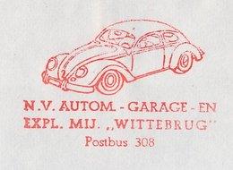Meter Cover Netherlands 1974 Car - Volkswagen Beetle - VW - Cars