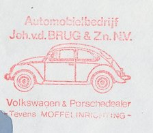 Meter Cover Netherlands 1986 Car - Volkswagen Beetle - VW - Cars