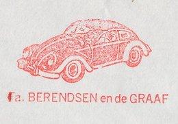 Meter Cover Netherlands 1973 Car - Volkswagen Beetle - VW - Cars