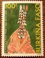 Burkina Faso 2003, 1251, Masque Pouni, 1v, 3eu - Burkina Faso (1984-...)