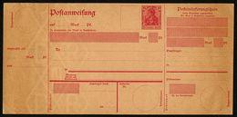 DT.REICH 1911, POSTEINLIEFERUNGSSCHEIN, A 35, KOMPLETT, UNVERWENDET - Entiers Postaux