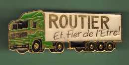 ROUTIER ET FIER DE L'ETRE! *** N°1 *** 2027 (19) - Trasporti