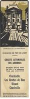 Chemin De Fer De L' Est - Circuit Automobile Des Ardennes- Vers 1930 - CBonharleville : Le Vieux Moulin - Segnalibri