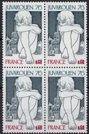 FRANCE N** 1876 Bloc De 4 MNH - Neufs