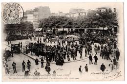 CPA 75 PARIS 11e Station De Métro COURONNES édicule GUIMARD Catastrophe Du Métropolitain 10 Août 1903 N° 1 Bis - Arrondissement: 11