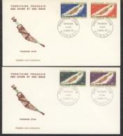 0l  042  -  Afars Et Issas  :  Yv  357-60  FDC - Afars Et Issas (1967-1977)