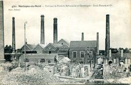 N°1428 T -cpa Mortagne Du Nord -fabrique De Produits Réfractaires Et Céramiques  : Louis Escoyez - Francia