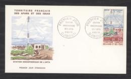 0l  044  -  Afars Et Issas  :  Yv  Av  63  FDC - Afars Et Issas (1967-1977)