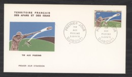 0l  046  -  Afars Et Issas  :  Yv  361  FDC  Tir Au Pigeon - Afars Et Issas (1967-1977)