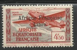 AFRIQUE EQUATORIALE FRANCAISE - AEF - A.E.F. - 1940 - YT PA 17** - VARIETE - Unused Stamps