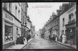 CPA 28 - Nogent-le-Rotrou, Rue Giroust Et Hôtel Du Chêne-Doré - Nogent Le Rotrou