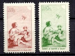 Suisse Précurseurs Pro-Juventute 10 Rp Neuf * Et 10 Cts Neuf ** MNH. B/TB. A Saisir! - Ungebraucht