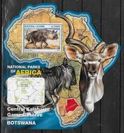 SIERRA LEONE BF 955  * *  ( Cote 20e )  Parc  Bostswana Hyene Antilope - Francobolli