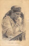 CPA ALGERIE ALGER OURIDAH PENSIVE - Women