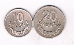 20+10 GROSZY 1949 POLEN /389/ - Polonia