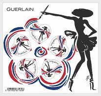 H01 France 2020 Guerlain Heart Miniature Sheet - Francia