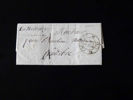 LETTRE DE LA MAILLERAY POUR CAUDEBEC  -  1831  - - Poststempel (Briefe)