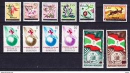 Burundi Kleine Verzameling **, Zeer Mooi Lot K608 - Timbres