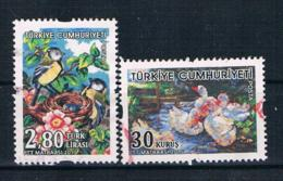 Türkei 2015 Vögel Mi.Nr. 4194/96 Gestempelt - 1921-... Republiek