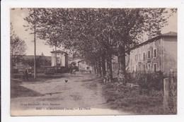 CP 38 SIMANDRES La Place - Autres Communes