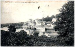29 PONT-AVEN - Sa Rivière Et Ses Quais Vus De L'autre Rive - Pont Aven